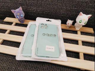iPhone 12promax霧面果色系列手機軟殼 (蒂芬妮綠💍)