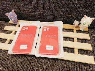 iPhone 12promax霧面果色系列手機軟殼 (櫻桃紅🍒)
