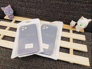 iPhone 12promax霧面果色系列手機軟殼 (大象灰🐘)