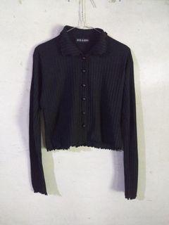 knit crop top by hye kathy