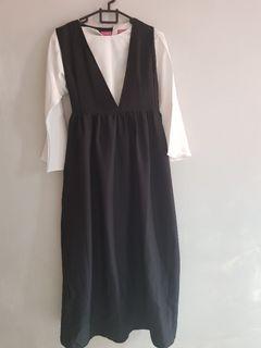 [LIKE NEW] Dresssofia Seoul Premium Set Black by Dress Sofia