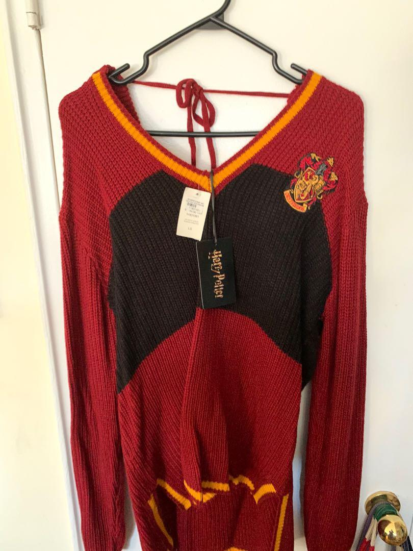 New with Tags Gryffindor Sweater