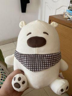 [BARU] WE BARE BEARS Plushie DOLL/ Miniso boneka teady bear WITH TAG