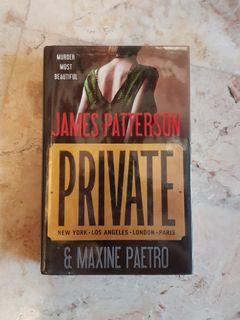 Private by James Patterson & Maxine Paetro (Hardbound Book)