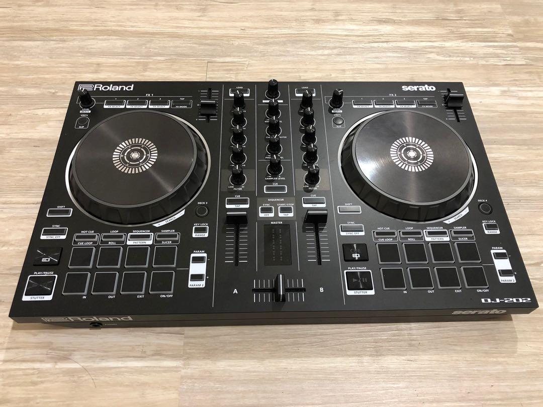 Roland DJ 202 DJ Controller 混音、DJ刮盤