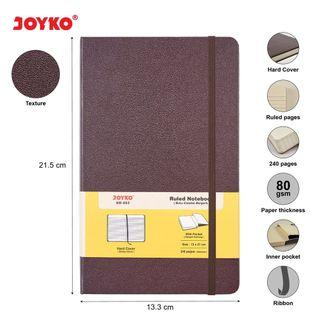 JOYKO Ruled Notebook Diary Agenda Buku Catatan Bergaris Joyko NB-663