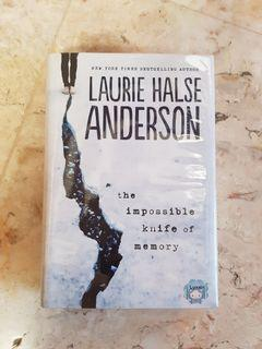 The Impossible Knife of Memory by Laurie Halse Anderson (Book)
