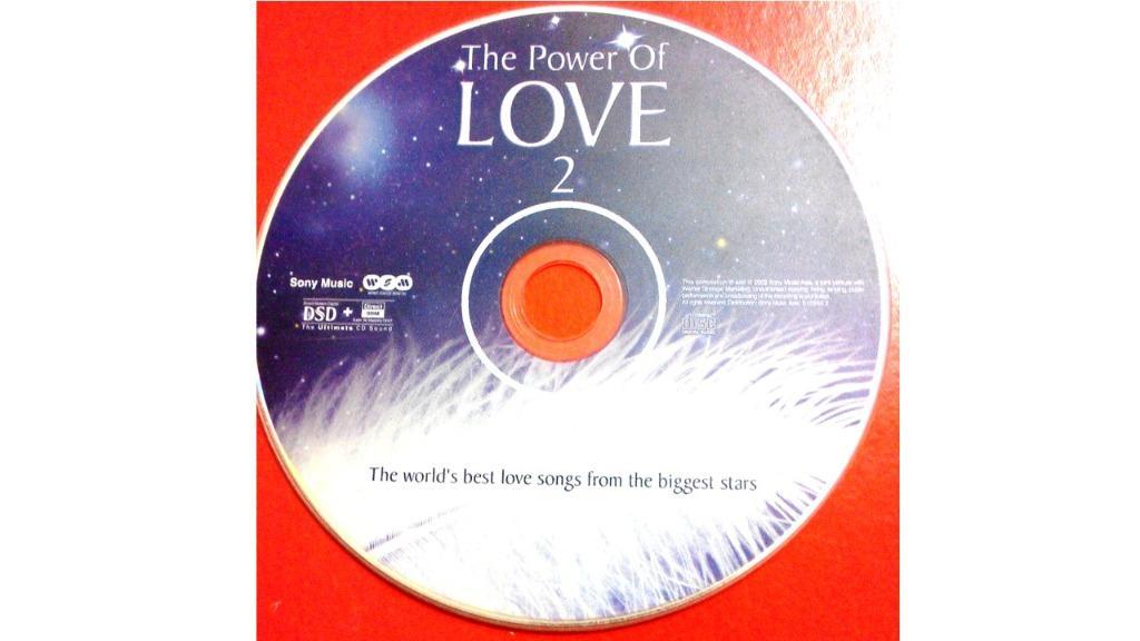 THE POWER OF LOVE 2 白羽毛之戀 2-世紀典藏情歌精選 CD