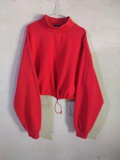 turtleneck crop sweater by Bershka