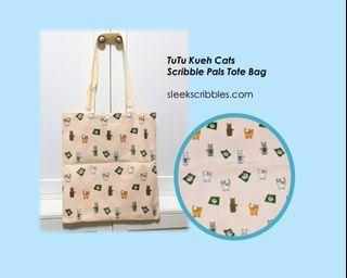 Tutu Kueh Cat tote Bag