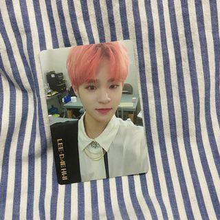 Wanna One Photo Card (PC) - Lee Dae Hwi