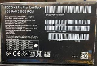 SEALED X3 PRO (8GB+256GB)