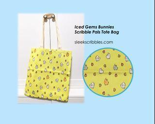 Yellow Rabbit Iced Gems Tote Bag