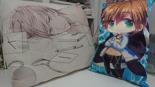 動漫抱枕2個