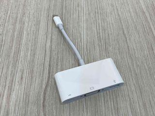 Apple原廠 Type C to VGA 轉接頭 (USB-C VGA多埠轉接器) 極新品項 只要1250 !!!