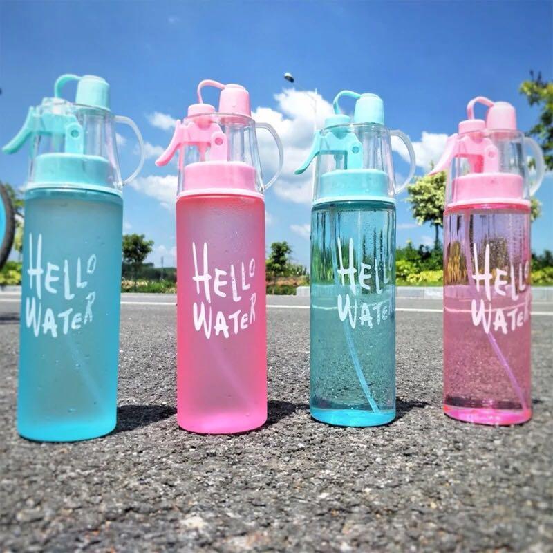 噴霧水壺✨極速降溫 自行車水壺 降溫水瓶