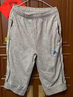 Adidas棉質七分褲
