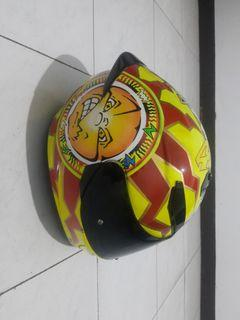 AGV K3SV Sun and Moon Inter Original 100% (Size L Asian Fit) kondisi 95% not Include Packtalk Bold