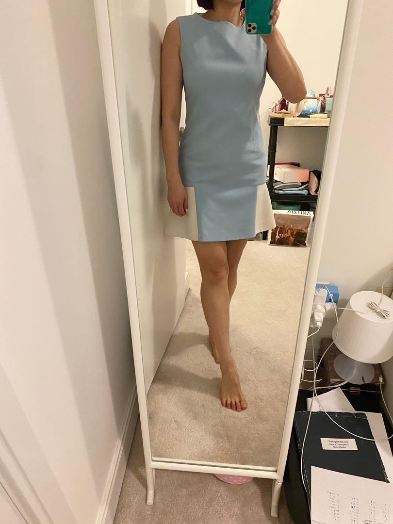 Baby blue dress size S