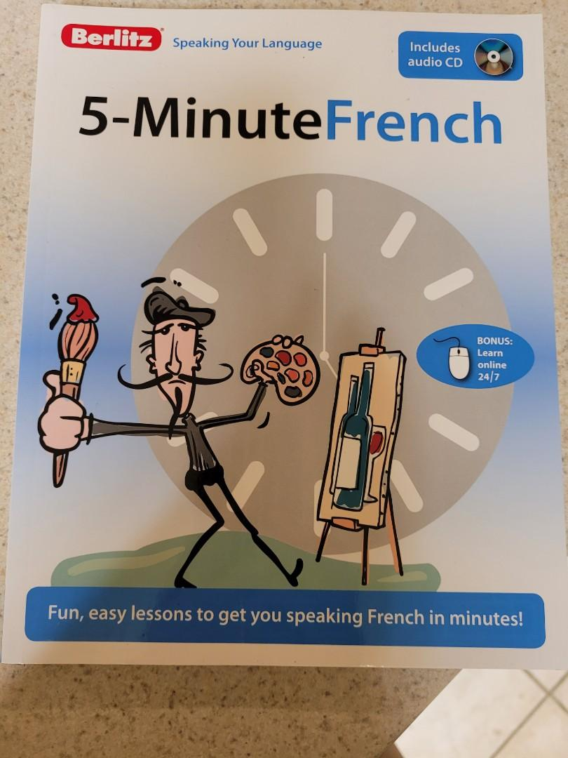 Berlitz 5 Minute French with audio CD
