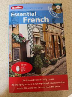 Berlitz Essential French with CD