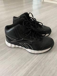 Black Reebok Kids Sports Shoes