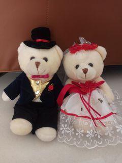 Boneka wedding, groom brides doll