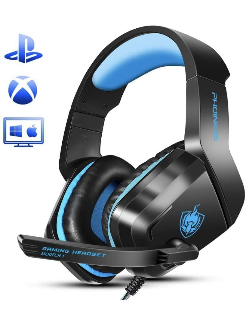 Brand new Gaming Headset for PS4, PC, Laptop, Mac, iPad, Nintendo Switch Games