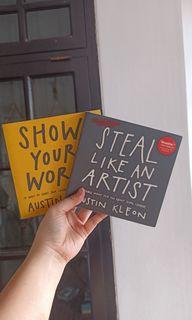 BUNDLING 2 BUKU - SHOW YOUR WORK, STEAL LIKE AN ARTIST (AUSTIN KLEON)