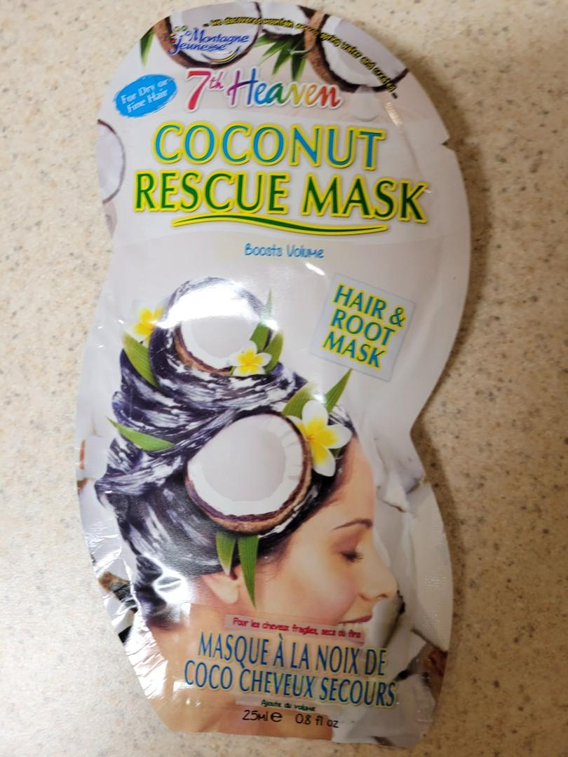 Coconut Hair and Root Rescue Mask