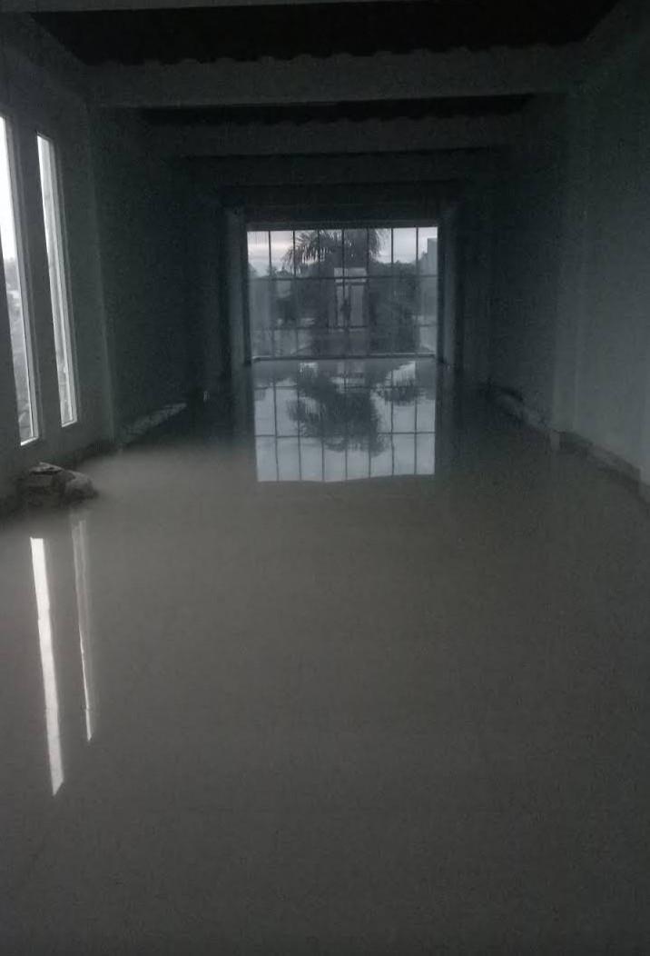 Disewakan Hanya Lt 3 dan Rooftop, Ruko Villa Melati Mas Blok B10-22, Jelupang Serpong Utara Tangerang Selatan Banten balakang Giant Villa Melati Mas