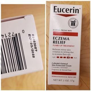 全新Eucerin, 濕疹舒緩潤膚乳,2 盎司(57 克) 售200不含運