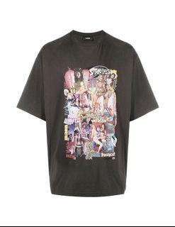 INSTOCK We11done Graphic College Tee