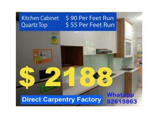 Kitchen cabinet - Direct Carpentry factory