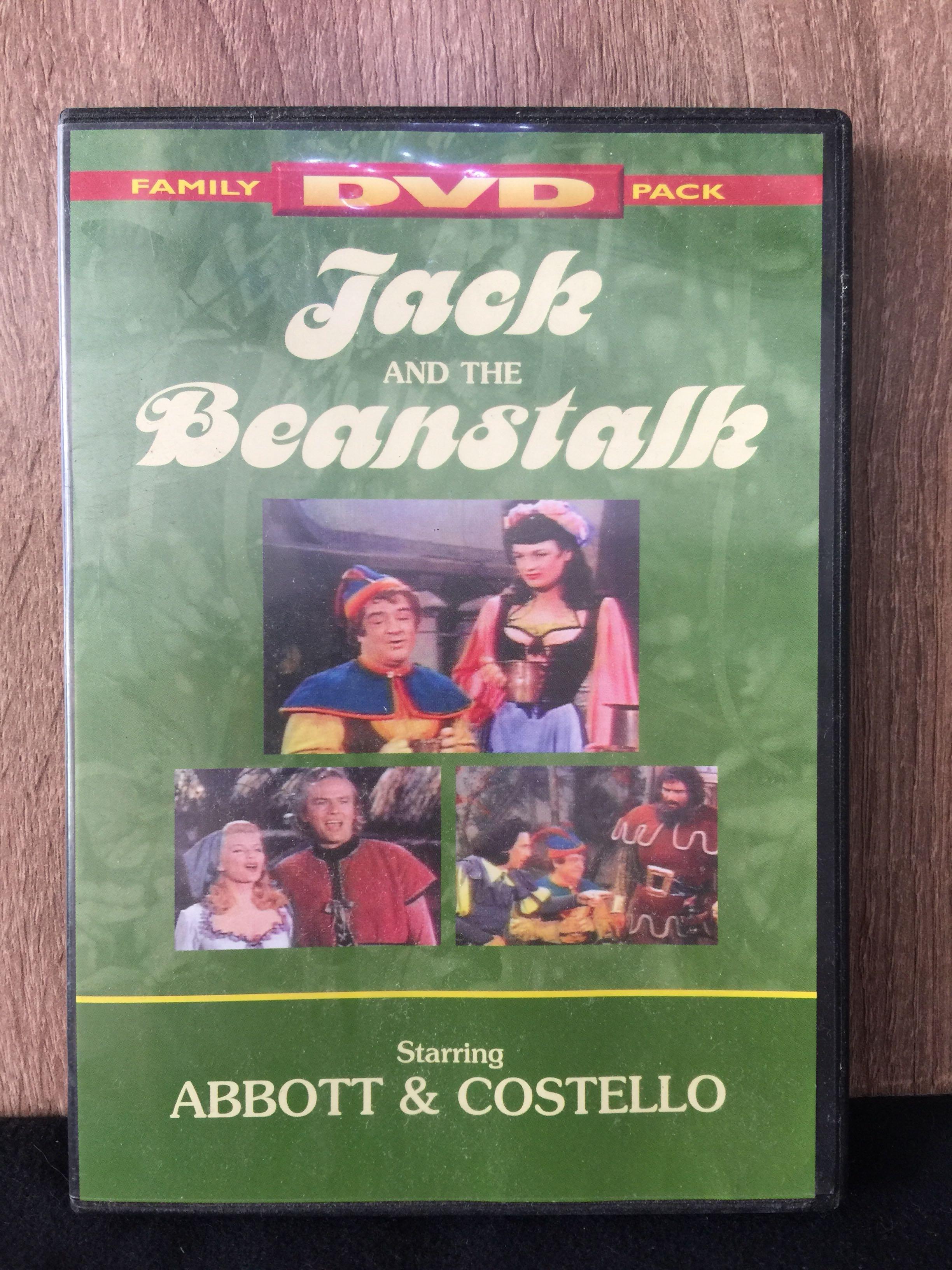 [M088-1] Jack and the Beanstalk starring ABBOTT & COSTELLO DVD