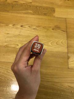 Maybelline 鍛光絲柔唇膏 370