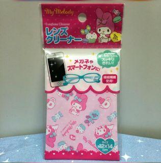 Melody 眼鏡布 相機布 除塵布 螢幕布 清潔布 絨布 鏡頭布 纖維絨 購自日本