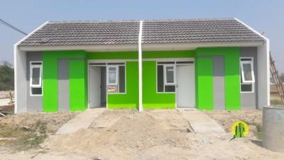 Rumah subsidi di Dalam Cluster  kota Serang Banten