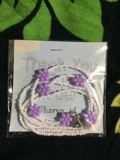 Strap Masker Lilac