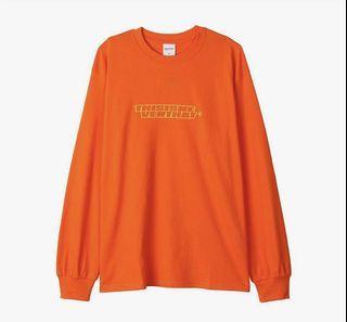 THISISNEVERTHAT orange shirt