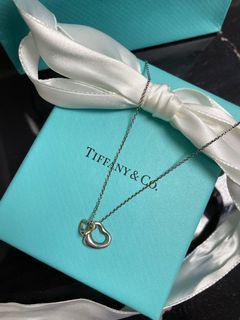 Tiffany Open Heart 頸鏈