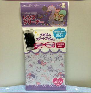 Twin Stars 眼鏡布 相機布 除塵布 螢幕布 清潔布 絨布 鏡頭布 纖維絨 購自日本