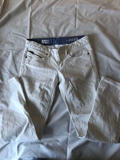 White Gap Jeans