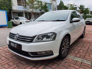2012 Volkswagen Passat 1.8 (A) Muka 3K Loan Kedai