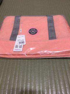 旅行包-桔粉色
