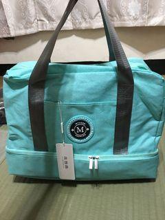 旅行包-藍綠色