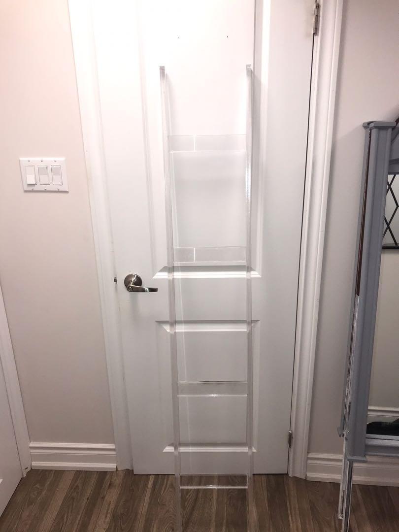 Acrylic ladder