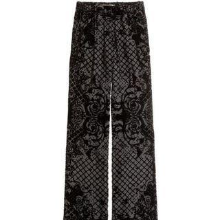 Balmain x H&M wide pants
