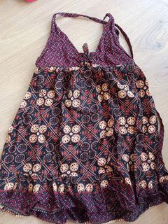Batik dress for baby girl