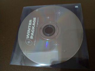 bts冬季寫真 CD片